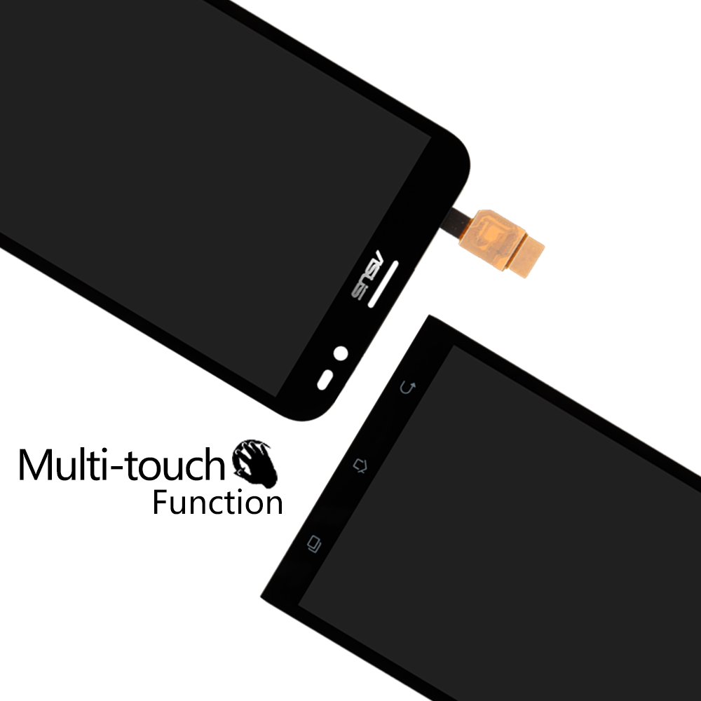 5.5 LCD Display With Touch Screen Digitizer Assembly For Asus Zenfone GO TV ZB551KL X013D 100% New Black