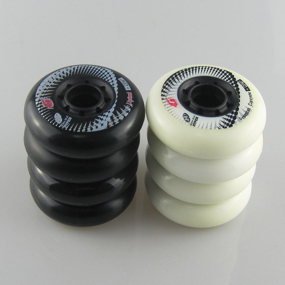 Image 4 - Hyper+G Wheels 84A 80mm Concrete Inline Skate Wheels With ILQ 11 Bearing Slalom Free Skating Sliding Roller For SEBA Patines 008-in Scooter Parts & Accessories from Sports & Entertainment