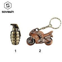 Sovawin Metal Retro Motorcycles Bomb Grenades Usb Flash Drive Storage Device Mini Usb Memory Key Stick Pen Drive 64gb 32gb 16gb