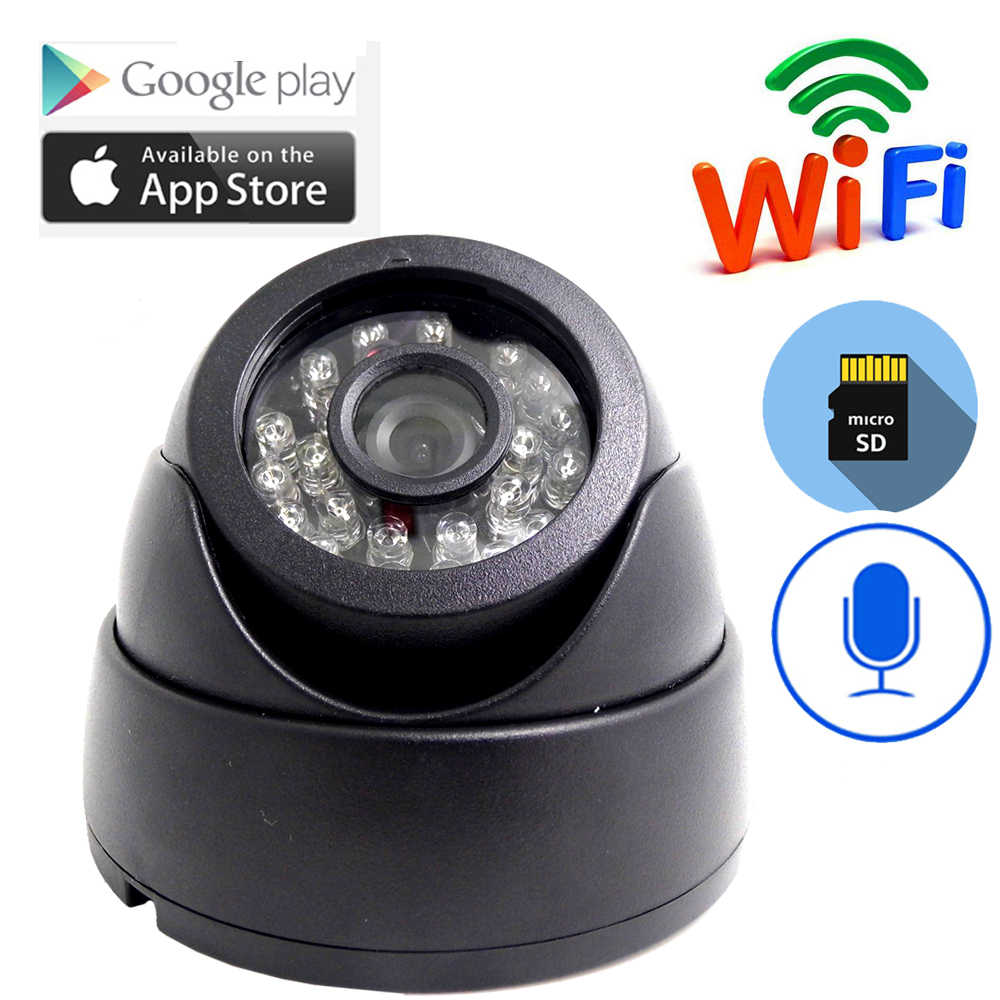 Mini wifi camera Home Security IP Camera Audio Draadloze Mini Camera Nachtzicht CCTV WiFi Camera Babyfoon P2P ONVIF