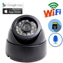 Mini cámara de wifi de seguridad IP Cámara Audio Mini cámara inalámbrica visión nocturna CCTV Monitor del bebé de la cámara del WiFi P2P ONVIF