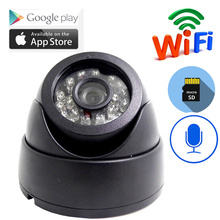 Mini wifi camera Home Security IP Camera Audio Draadloze Mini Camera Nachtzicht CCTV WiFi Camera Babyfoon P2P ONVIF