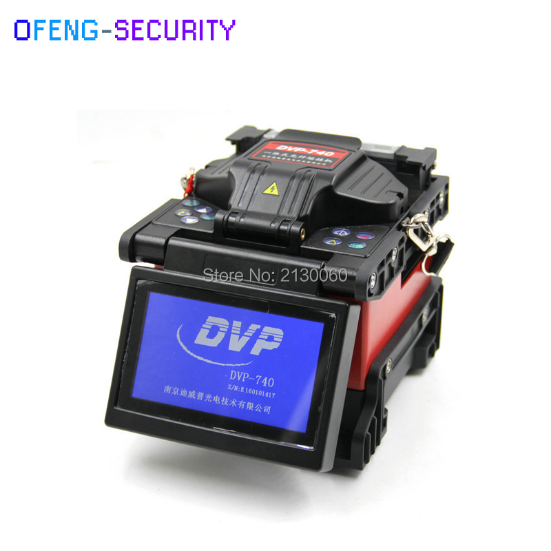 DVP-760 Single Fiber Fusion Splicer FTTx / FTTH Fiber Optic Splicing Machine DVP760