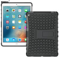 Luxury Hybrid Silicon Stand Shell For Apple IPad Pro 9 7 Heavy Duty Shockproof Dual Layer