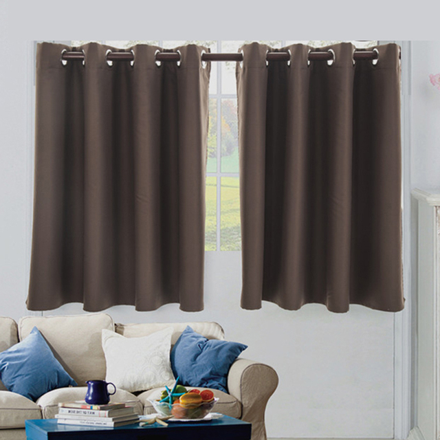 Hoomall Kitchen Short Curtains Window Door Curtains Home Decor Window Curtains For Living Room Home Decoration High Quality
