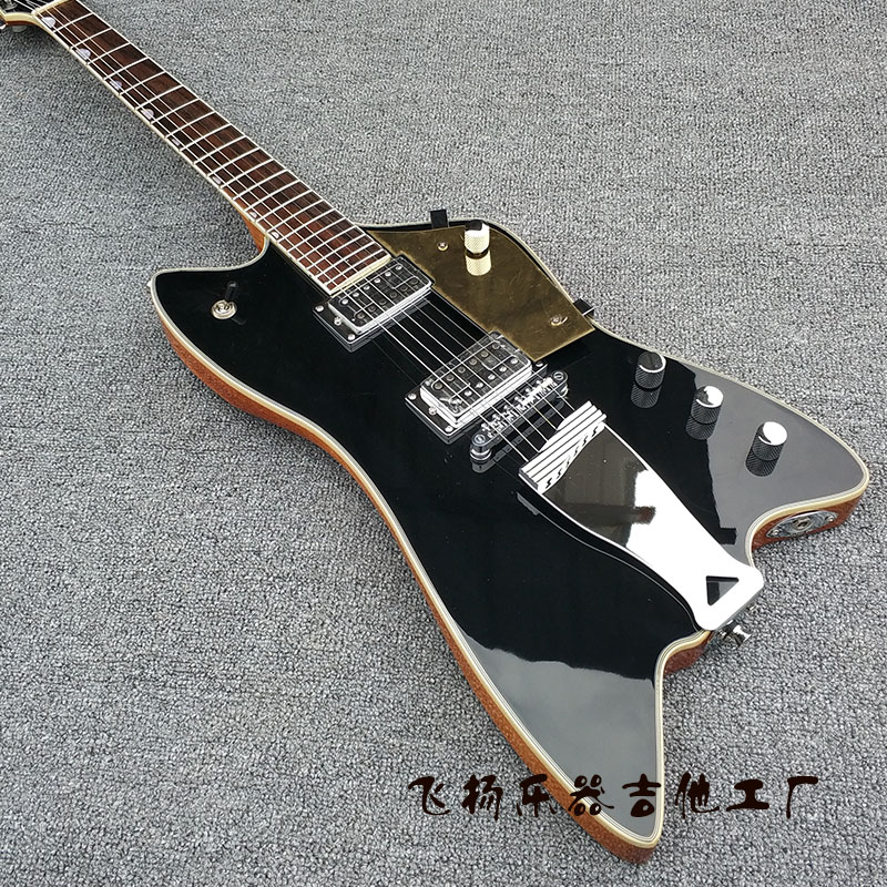 special shaped guitar billy bo accept custom any wood any style electric guitar guitarra 6. Black Bedroom Furniture Sets. Home Design Ideas