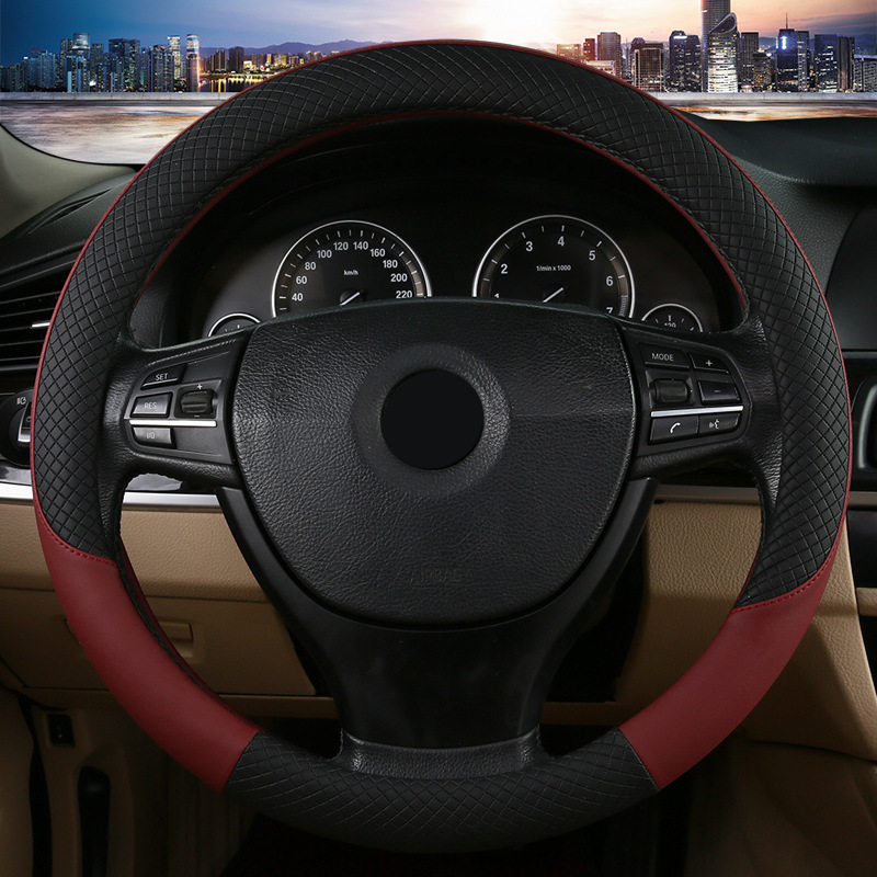 Car Steering Wheel Cover Automotive Summer Sweat absord inner car accessory size 38cm fit for most of car wheel covers wholesale