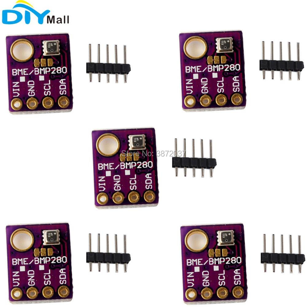 5pcs BME280 Digital Barometric Pressure Sensor Board Module for Arduino