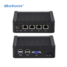 QOTOM Mini PC Q190G4 mit 4 lan-anschluss, mit pfsense als router/firewall, lüfterlosen PC kein lärm, Low power Mini PC Quad core 2 GHz