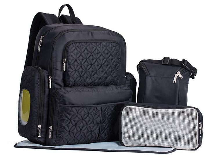Large Capacity Baby Diaper Bag Travel Backpack Nappy Changing Stroller Bag Organizer Mummy Mother Maternity Baby Nursing Bag цена 2017