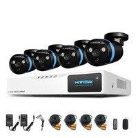 8CH CCTV System HDMI DVR 1080P NVR CCTV Security Camera System 4 PCS IR Outdoor Video