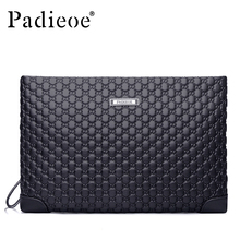 Padieoe Hot Sale Genuine Leather Clutch Bag for Men Fashion