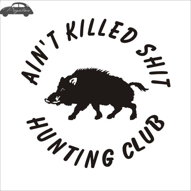 Pegatina Jagd Wildschwein Aufkleber Hunter Club Aufkleber Gun Shop