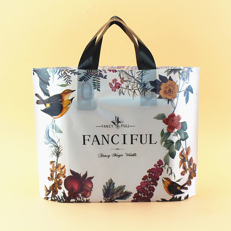 20pcs/lot Multi size flower spring animal Gift Bag Plastic Shopping Bags Jewelry Boutique Gift Clothing Packaging Plastic Bags