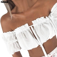 Feitong-Off-Shoulder-Womens-Summer-Top-1