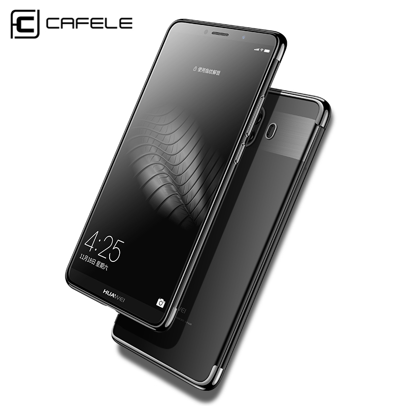 2d07a2258c0 CAFELE Transparent Plating case for huawei mate 10 pro cases Ultra thin  soft TPU electroplate shining ...