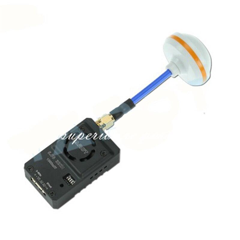 Tarot TL300N4 5 8G 32CH 1000mW Wireless AV Transmitter with Aluminum Case Mushroom Antenna Sender Set