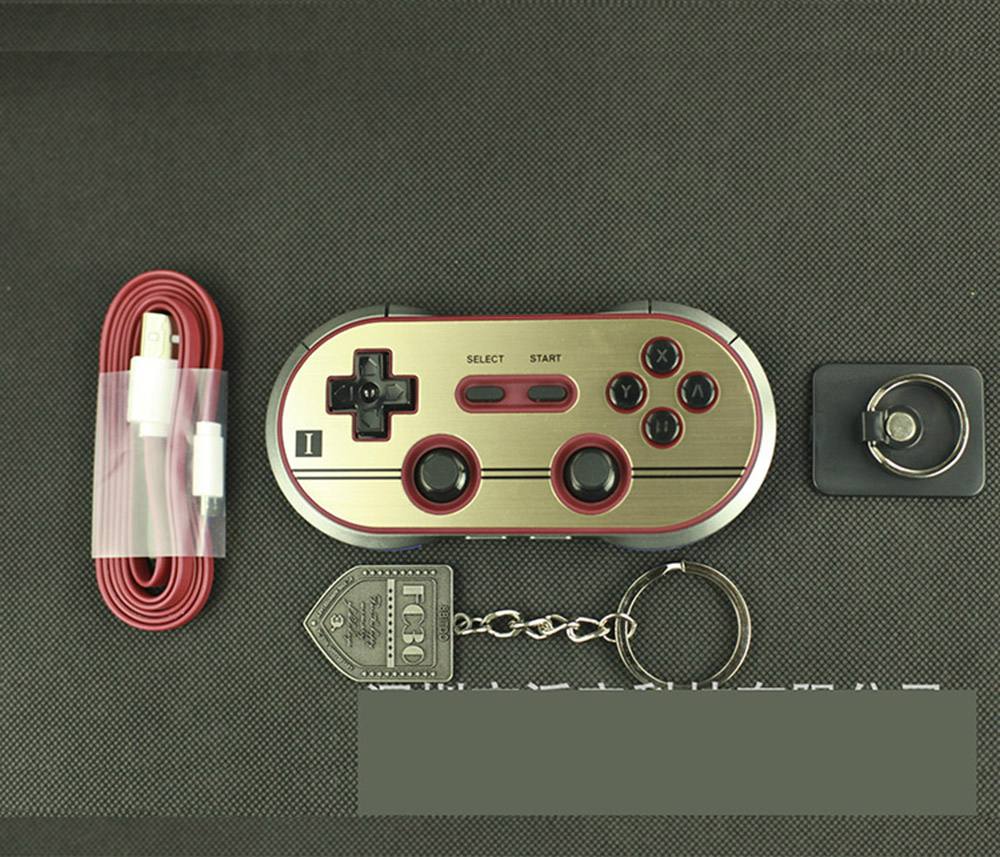 Original 8bitdo Fc30 Pro Wireless Bluetooth Controller For Pc Nes Wifi Classic Android Ios Picture