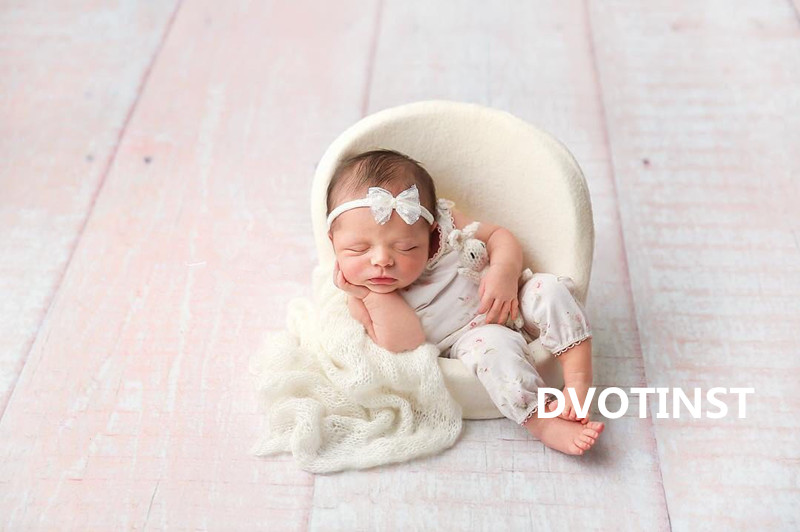 Dvotinst Newborn Baby Photography Props Posing Mini Sofa Chair Unisex Fotografia Accessory Infant Studio Shooting Photo Props newborn photography props child headband baby hair accessory baby hair accessory female child hair bands infant accessories