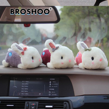 BROSHOO 3Size Car Styling Cute Rabbit Bamboo Charcoal Package Air Freshener Car Bamboo Charcoal Bagdog Car Air Deodorant Cartoon car air freshener 135g bamboo charcoal package purifying air in addition to formaldehyde odor car bamboo charcoal package