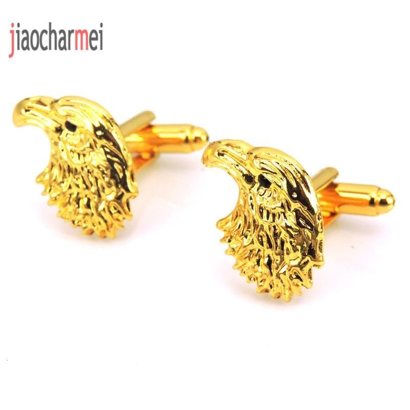Free shipping high quality men's fashion boutique brand Cufflinks animal bird gold cufflinks, French shirt clothing accessories