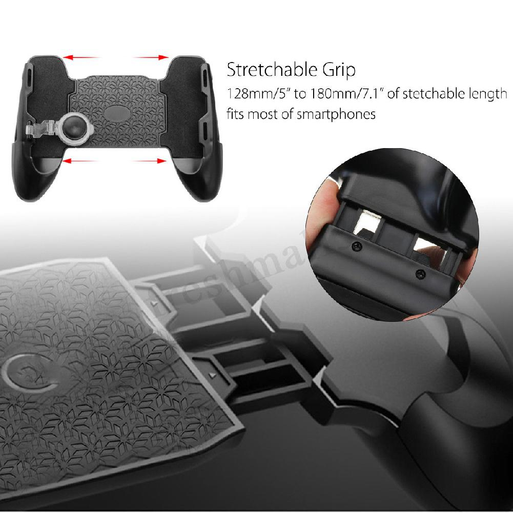 Image 3 - 3 in 1 Mobile Gaming Gamepad Joystick and Controller Trigger and Fire Button for PUBG-in Gamepads from Consumer Electronics