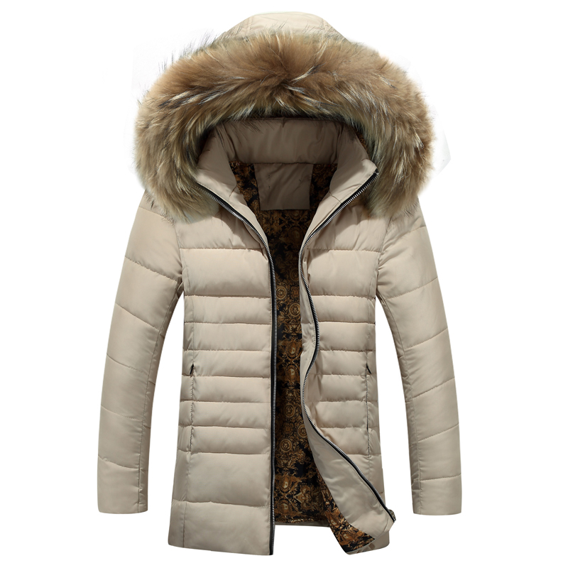 Jackets Men Detachable Fur Hooded Warm Men Coats 2017 Winter Jacket Men Plus Thick Outwears Parka jackets