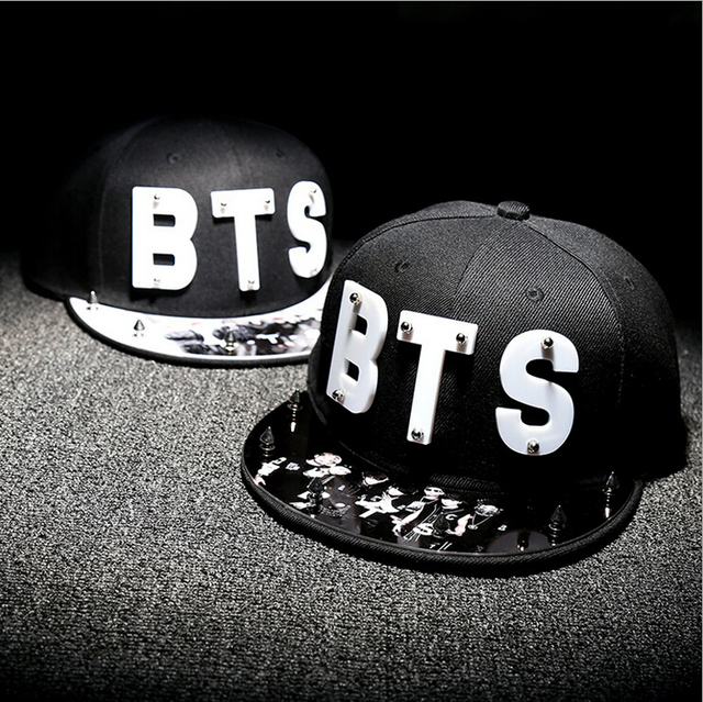 k-pop kpop Bulletproof Boy Scouts Hat BTS Bangtan Boys album Summer and Autumn Women hat Men Baseball caps
