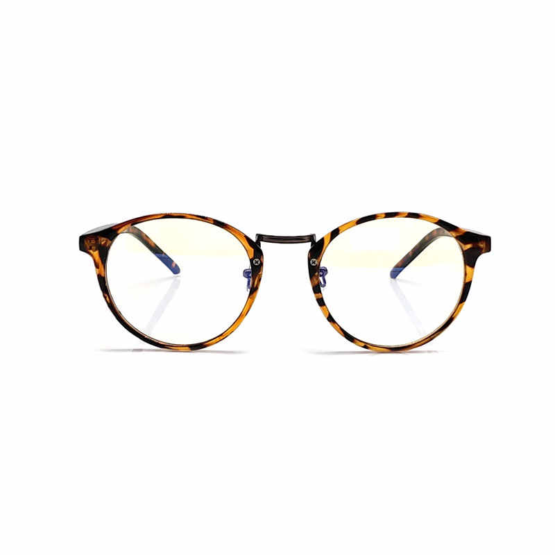 4604189b91 ... Anti Blue Ray Computer Glasses Men Women Transparent Eyeglasses Fashion  Spectacle Frame Round Oculos De Grau