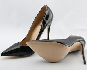 Image 5 - So Kate zapatos de tacón alto para mujer, calzado de punta puntiaguda, color negro, charol, Stiletto Pigalle, para novia