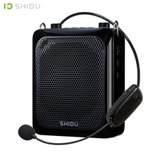 SHIDU 25W Ultra Tragbare Mini Audio Bluetooth Lautsprecher Aufnahme UHF Wireless Mikrofon Verstärker Stimme Für Lehrer Tourist S28