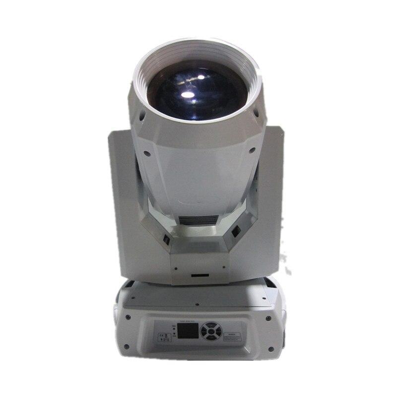 Super faisceau blanc couleur 260 W 10r sharpy tête mobile dmx éclairage de scène 2 dans 1 lentille 18 canal de contrôle pour disco dj éclairage bar