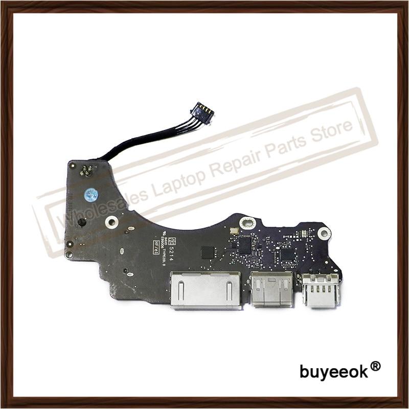 Original Quality A1502 Power Audio USB Board For Macbook Pro Retina 13'' ME864 ME865 ME866 2013 Replacement original new power port for macbook pro retina 13 15 a1706 a1707 a1708 power jack board 2016 2017 820 00484 02 replacement