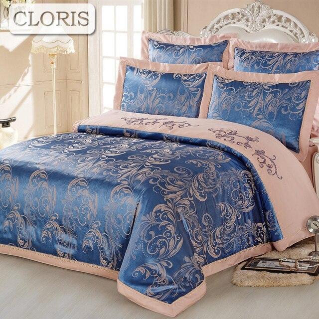CLORIS Sell Bedding Set Best Cotton Plaid Bedclothes Comforter Bedding Kit  Bedspread Pillowcase Fit Sheet Bed
