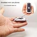 Newmind F1 Русский, Французский, Испанский меню Кач-группа Наименьший мини модель Автомобиля наушники телефона bluetooth dialer MP3 P097