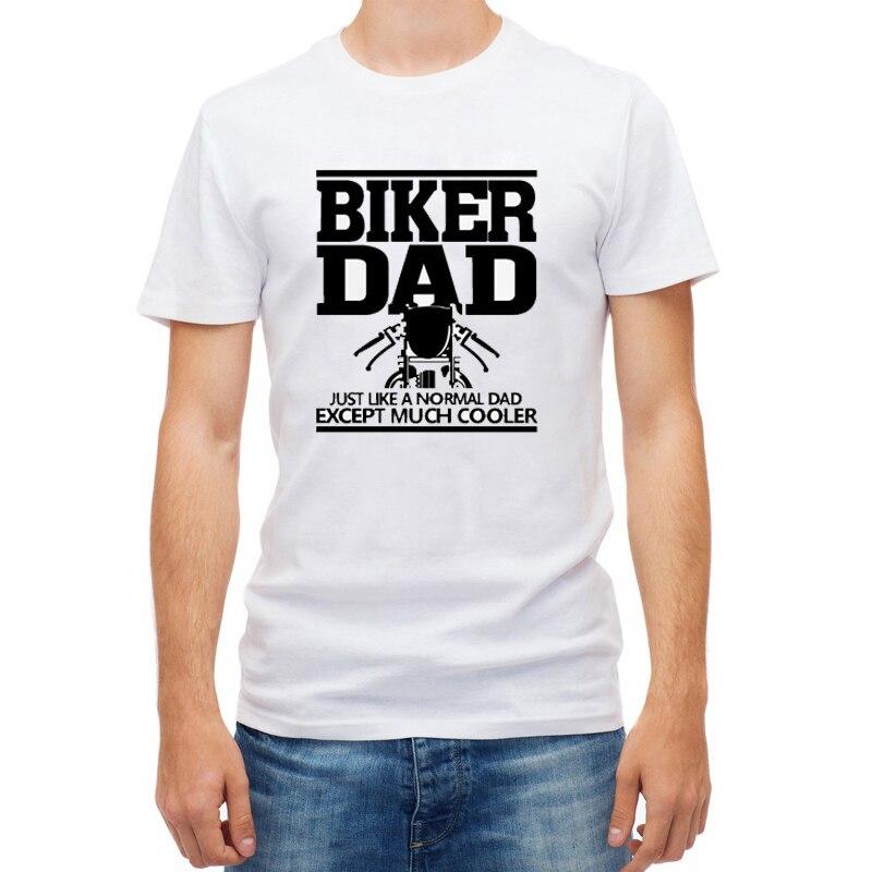 2017 neue Biker Dad Herren Lustige Motorrad T shirt ...