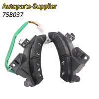New black Color or Brown Color A Pair OEM 75B037 For Toyota Highlander Land Cruiser Steering Wheel Controls Switch