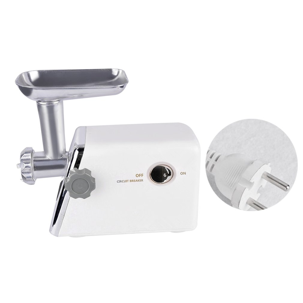 Electric Meat Grinders With Metal Gears ~ W electric meat grinder with cutting blades