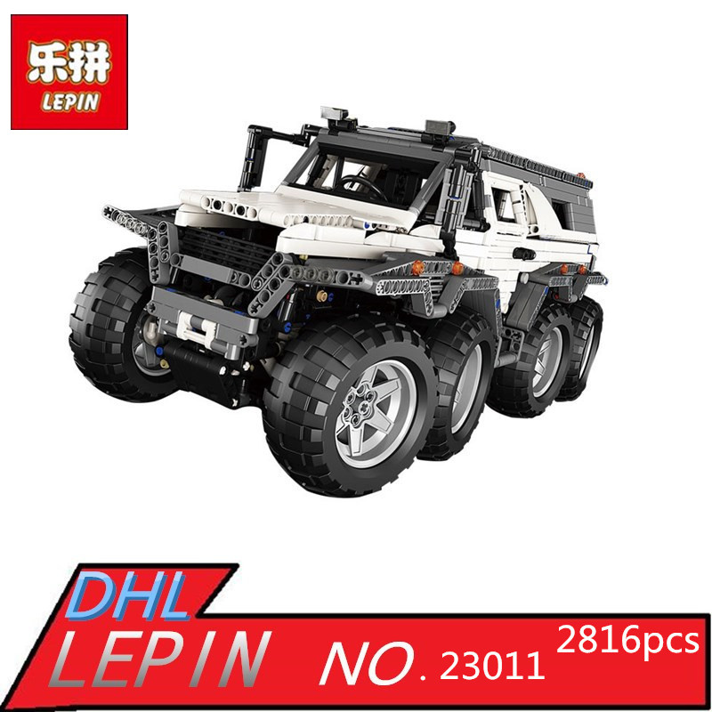 LEPIN 23011 2816pcs Technic Series Off-road Vehicle Model Building Blocks Bricks Kits Compatible 5360 Toy for Boy Brithday Gifts new lepin 23011 technic series 2816pcs off road vehicle model building blocks bricks kits compatible 5360 boy brithday gifts