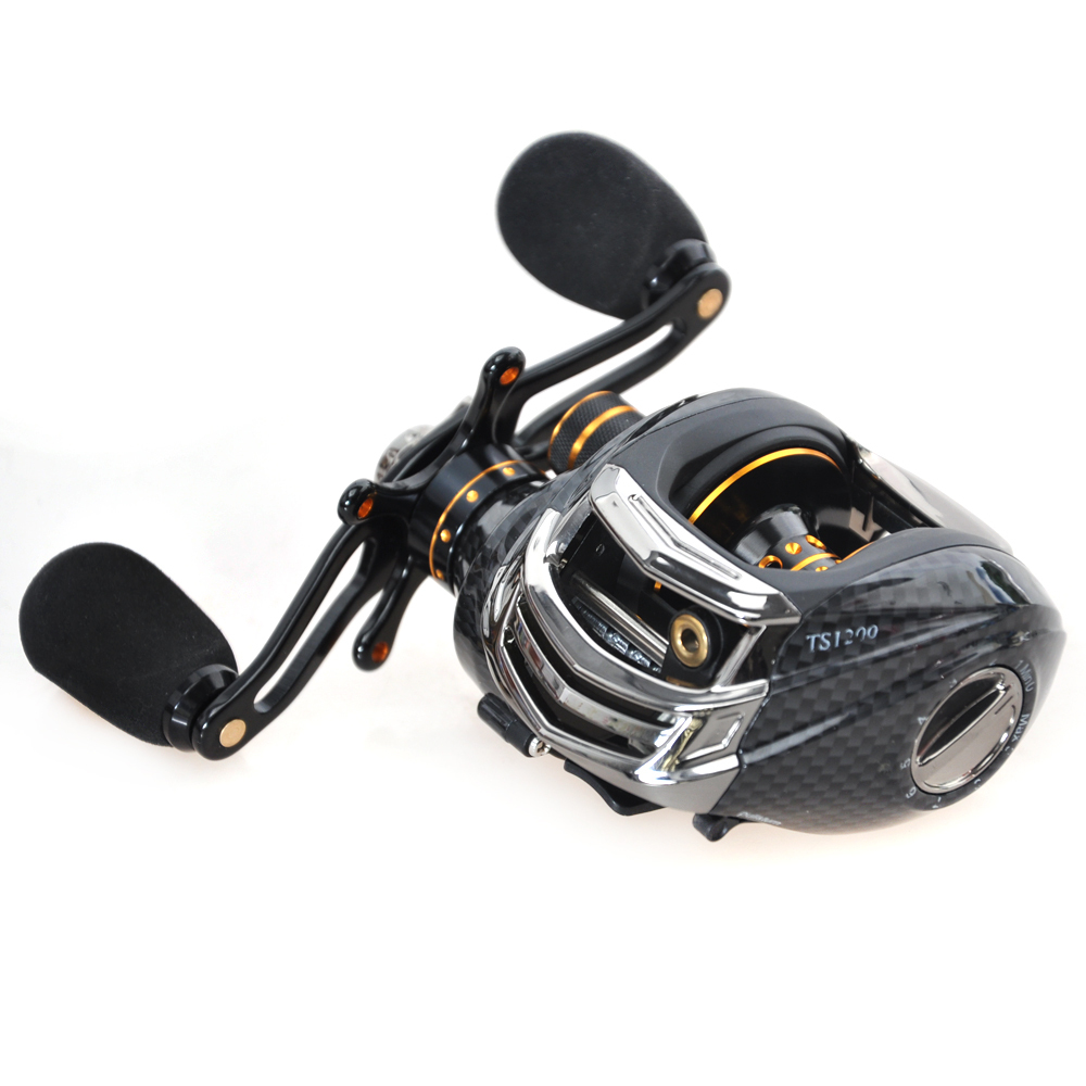 Trulinoya 14BB 6.3:1 TS1200 Right Hand Baitcasting Reel Bait Casting Fishing Reel Carp Fishing Gear Molinete Carretilha Pesca