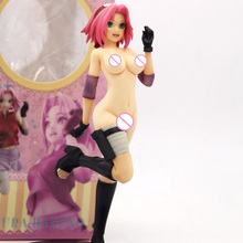 цена на 1/7 Scale Remodeled Classic NARUTO Gals NARUTO Shippuden Sakura Haruno Sexy Resin GK model Naked Collection anime figures