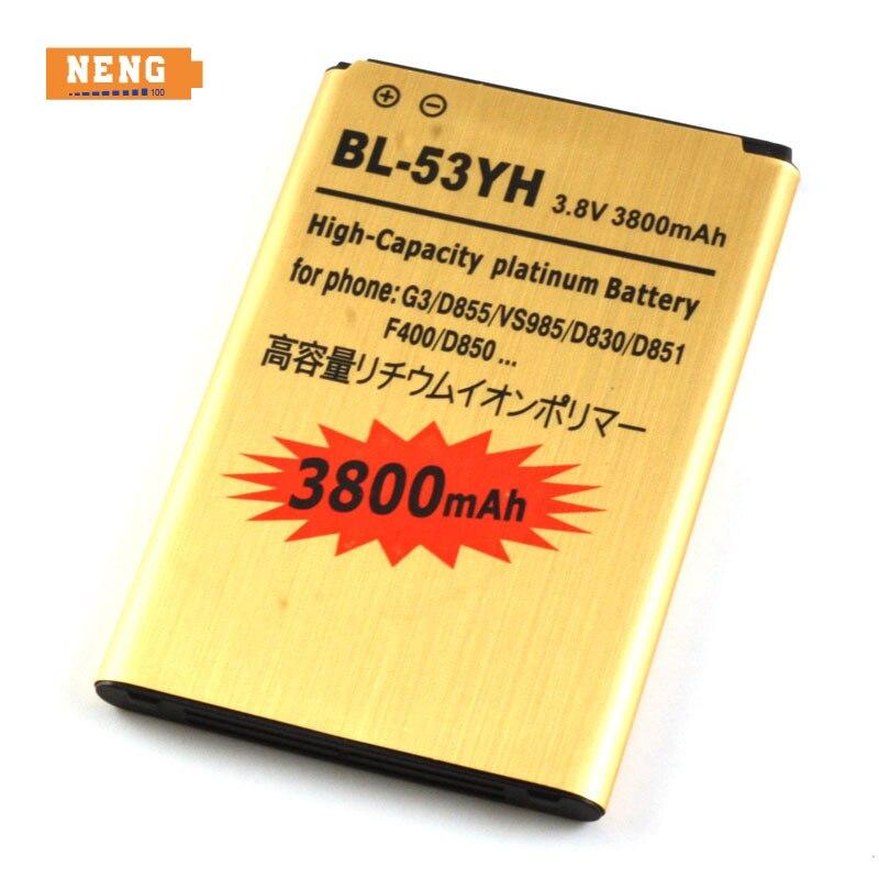 Нэн 3800 мАч Замена литий-ионная Батарея для <font><b>LG</b></font> <font><b>G3</b></font> <font><b>G3</b></font> F400 F460 d858 D830 <font><b>D855</b></font> Vs985 D850 D851 Vs985 LS990 US990 bl-53yh