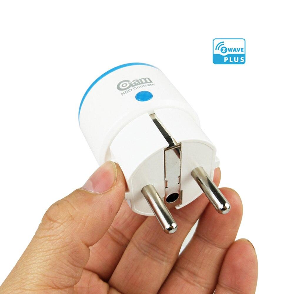 Coolcam Z-WAVE PLUS EU Smart Power Steckdose Für Zwave Home Automation Alarm System Z welle 868,4 mhz Frequenz