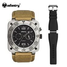 INFANTERÍA Hombres reloj de Los Deportes Militares Relojes 30 M Resistente Al Agua Reloj Luminoso Hombres de Primeras Marcas de Lujo Del Relogio masculino 2016