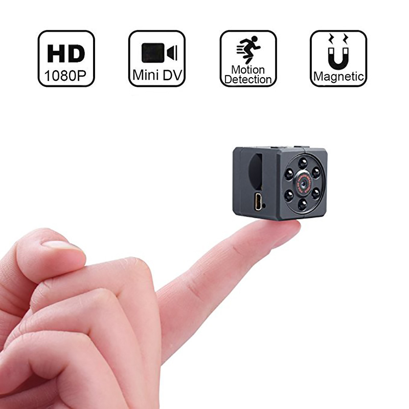 HD 1080P Mini camera Infrared Night Vision Monitor Concealed small Cam wireless camera Camcorder DVR video Sport micro Camcorder capa gucci iphone x