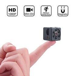 Hd 1080 p mini câmera de visão noturna infravermelha monitor escondido pequeno cam câmera sem fio filmadora dvr vídeo esporte micro filmadora