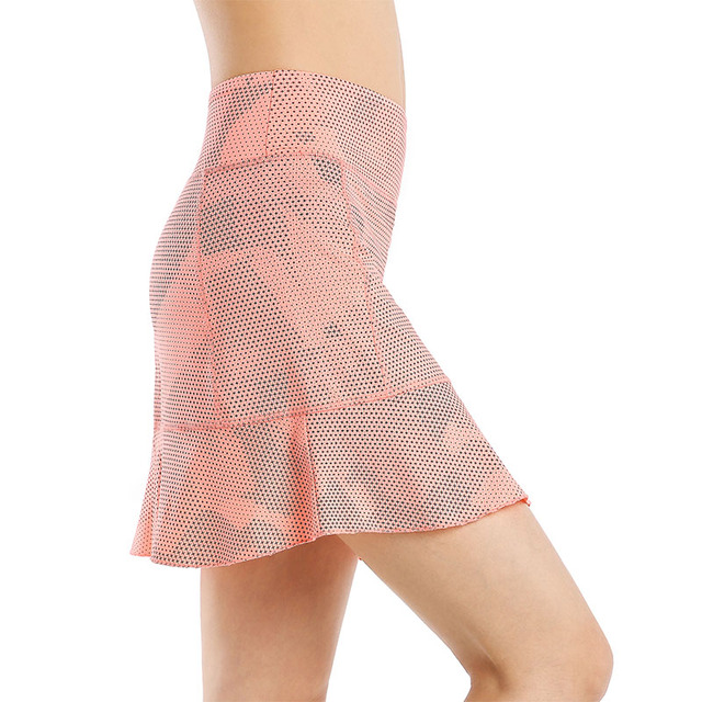 EAST HONG Women Sport Tennis Running Skorts Badminton Golf Shorts Skirts
