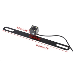 Image 3 - Car Rear Reverse License Plate Parking Rearview Backup Camera Universal
