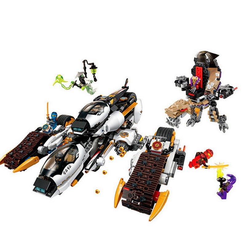 06038 LEPIN 1167Pcs Ninjago Ultra Stealth Raider Model Building Blocks Enlighten DIY Figure Toys For Children Compatible Legoe lepin 06038 compatible legoe ninjagoes minifigures ultra stealth raider 70595 building bricks ninja figure toys for children