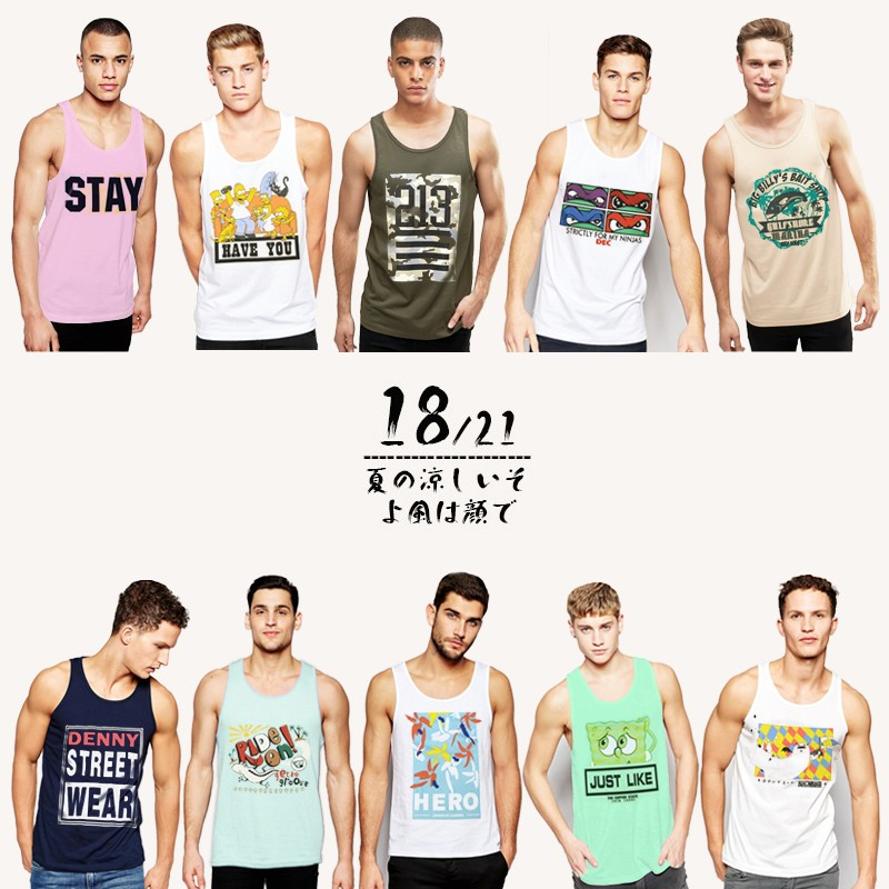 Tank Tops Men Printing Undershirt Summer Casual Singlet Vest Couples Gym Shark Tshirt Slim Fit Sport Sleeveless Hip Hop Tops XXL (5)